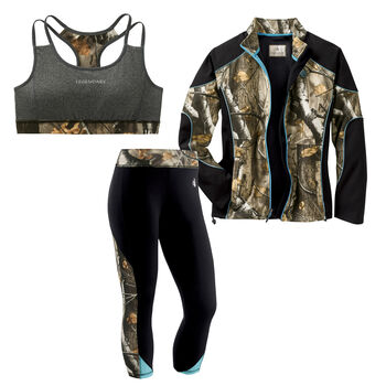 Women's All-Season Camo Activewear Set