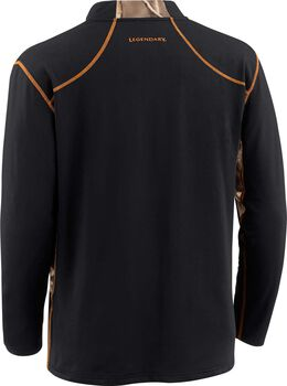 Men's Endurance Big Game Camo Performance 1/4  Zip