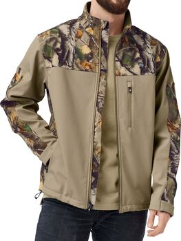 Men's Camo Hurricane Softshell Jacket