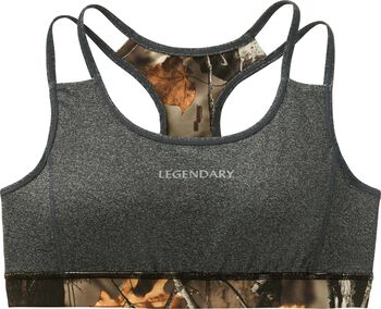 Women's Big Game Camo Stadium Reversible Sports Bra
