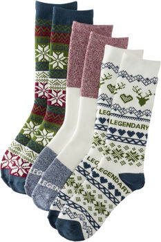 Women's Toasty Toes 3-Pack of Socks