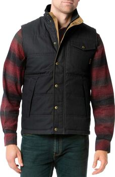 Men's Bison Canvas Vest