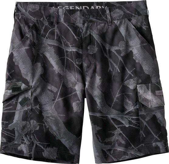 Men's Coastal Big Game Camo Stretch Cargo Shorts