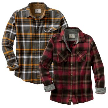 His & Hers Flannel Favorites