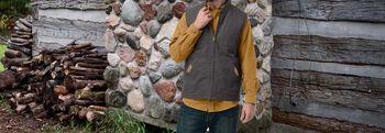 Men's Canvas Cross Trail Vest