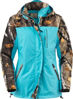 Women's Big Game Camo Splash Rain Jacket