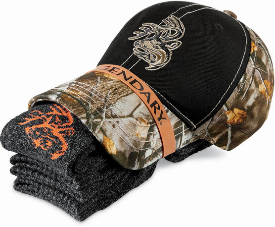 Men's Legendary Hat and Sock Bundle