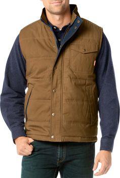 Men's Bison Canvas Vest