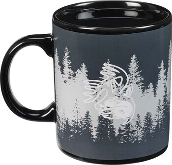 Deer Camp Color Changing Coffee Mug