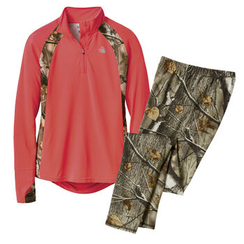 Women's Camo Intensity Performance Outfit
