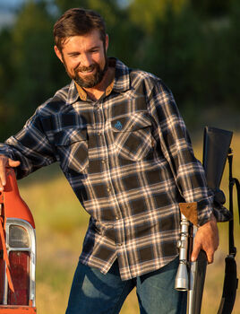 Men's Shotgun Western Flannel