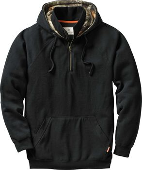 Men's Big Camp 1/4 Zip Hoodie