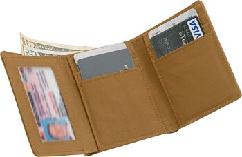 Men's High Impulse Canvas Tri-Fold Wallet
