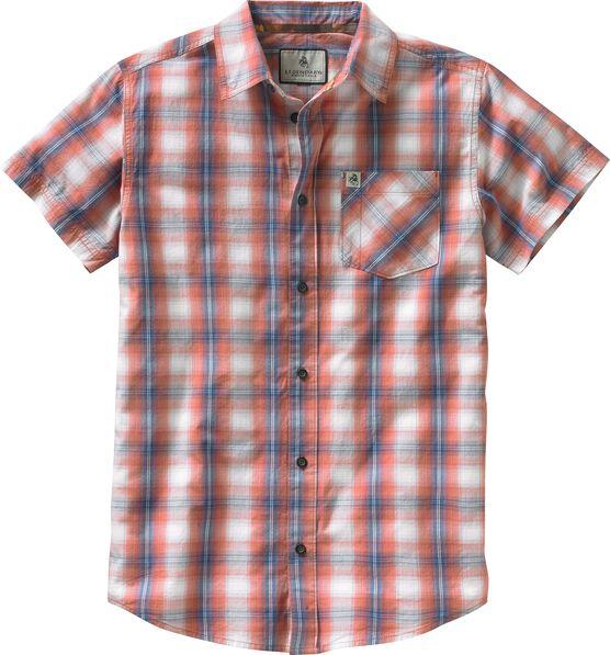 Men's Drifter Plaid Poplin Short Sleeve Shirt