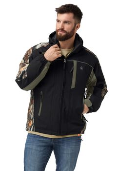 Men's Camo Glacier Ridge Pro Series Jacket