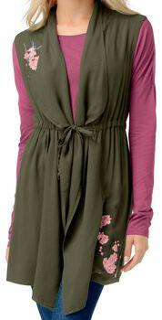 Women's Wildflower Waterfall Vest