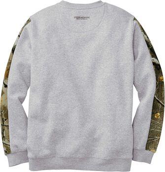Men's Outfitter Crew Neck Fleece Sweatshirt