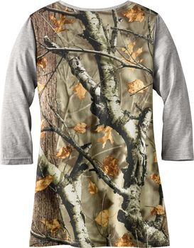 Women's Escape the Day Big Game Camo Tunic