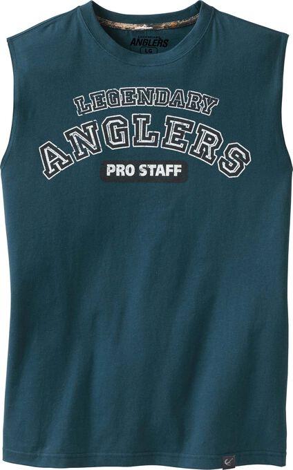 Men's Anglers Pro Staff Sleeveless T-shirt