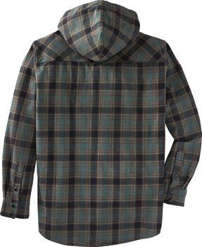 Men's Backwoods Hooded Flannel