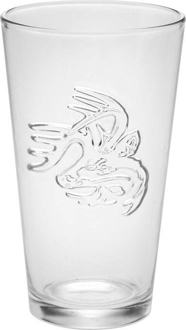 Signature Buck Pint Glass 4 Pack