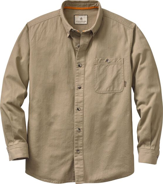 Men's Hunting Camp Twill Shirt