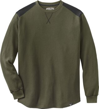 Men's Anglers Breakline Thermal Crew