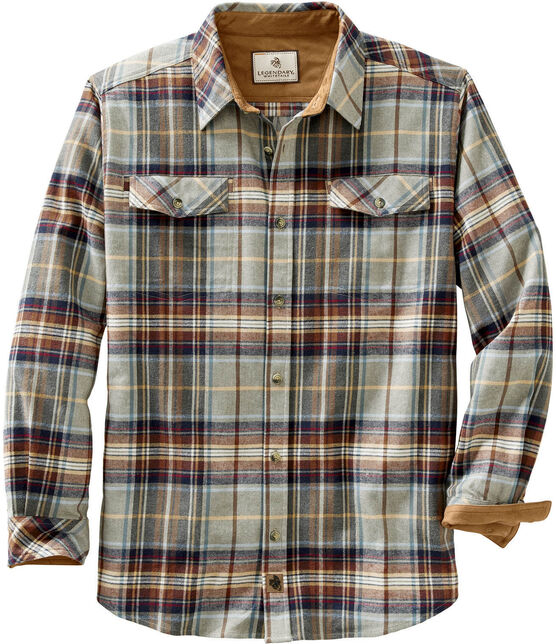Men's Legendary Plaid Flannel Shirt