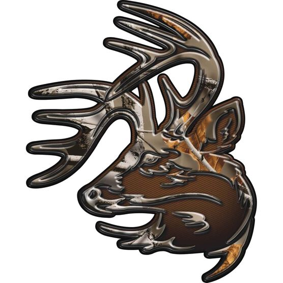 Legendary Truck Buck Window Decal