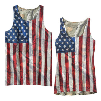 His & Hers Camo Nation Tanks
