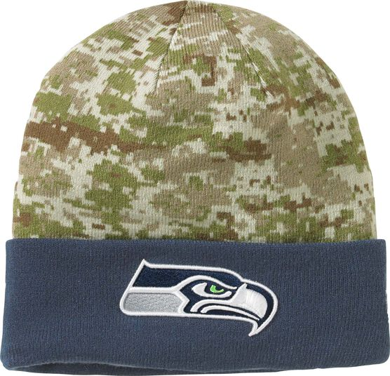 Men's New Era Camo NFL Knit Hat
