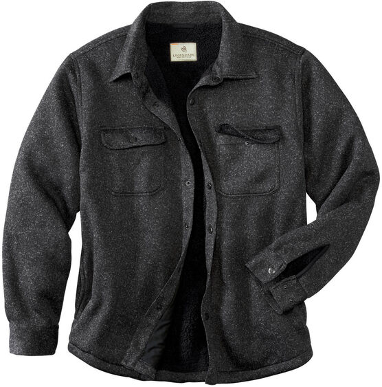 Men's Camp Rebel Sweater Fleece Shirt Jacket