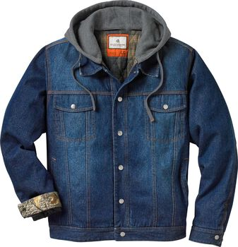 Men's Hideout Conceal and Carry Denim Jacket