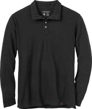 Men's Harvest Mock Henley