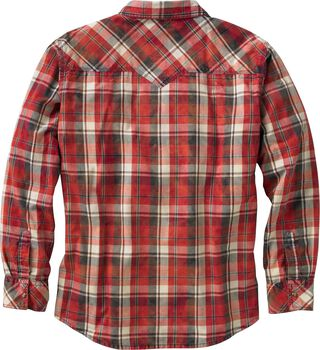 Men's Outlaw Western Plaid Shirt
