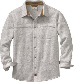 Men's Silent Hide Sweater Fleece Button Up