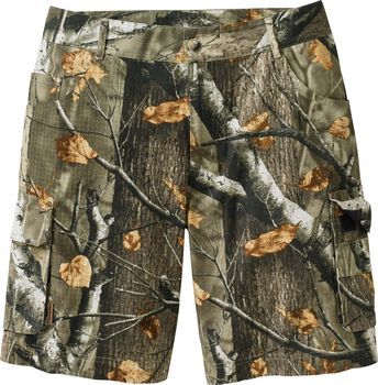 Men's Ripstop Camo Cargo Shorts
