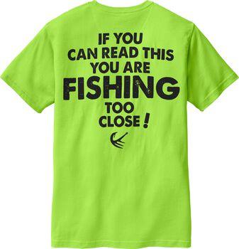 Fishing Too Close Short Sleeve Tee