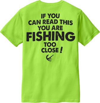 Men's Fishing Too Close Short Sleeve T-Shirt