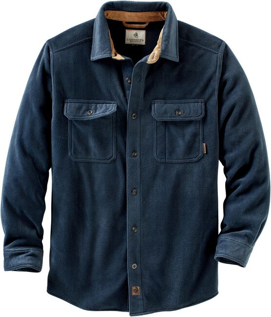 Men's Navigator Fleece Button Up Shirt