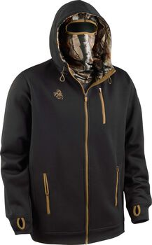 Men's Double Time Hoodie w/ Built-In Balaclava