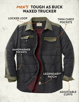 Men's High Caliber Quilted Shirt Jacket
