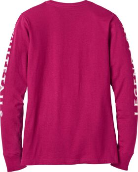 Women's Cotton Non-Typical Long Sleeve T-Shirt