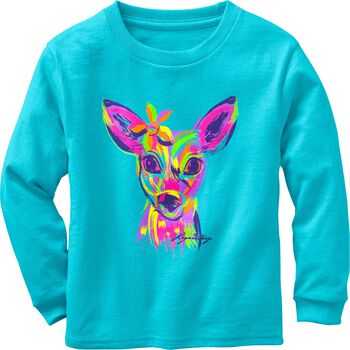 Toddler Girls' Radiant Fawn Long Sleeve T-Shirt