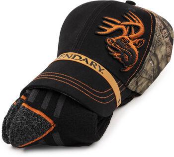 Mossy Oak Hat Sock Bundle