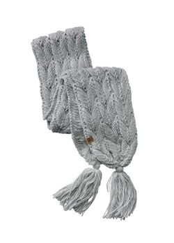 Women's North Woods Cable Knit Scarf