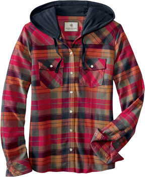 Women's Lumber Jane Hooded Flannel