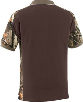 Men's Big Game Camo Pro Hunter Performance Polo