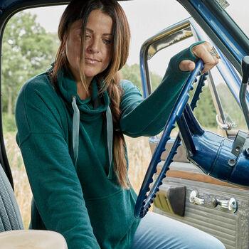 Women's Hidden Trail Funnel Neck