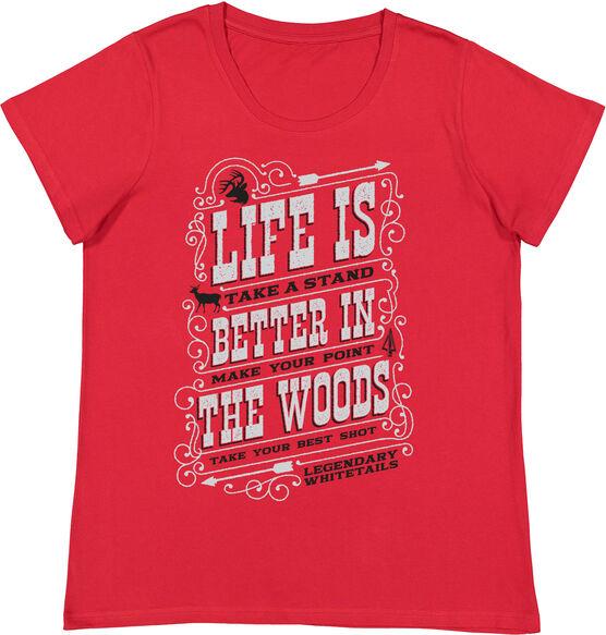 Women's Legendary Whitetails Short Sleeve T-Shirt